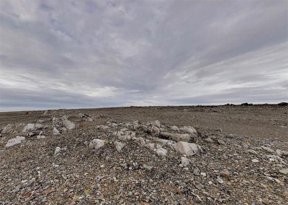 Ritterhytta: Panoramabilde utvendig 1